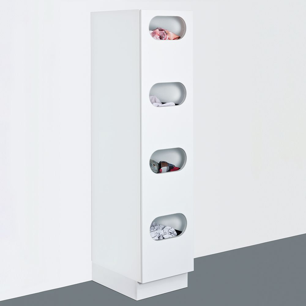 Sort cupboard for laundry
