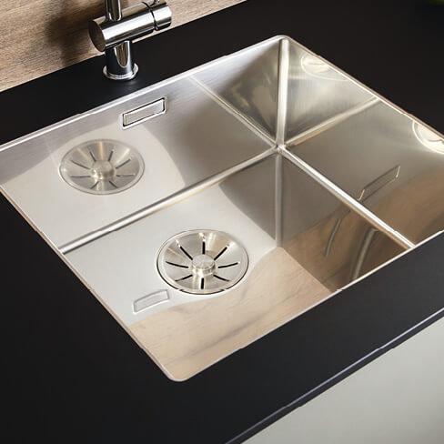 Under-mounted sink