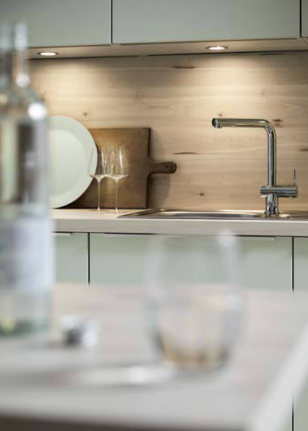 Sink and splashback details