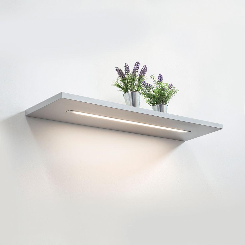 Flush mounted LED strip