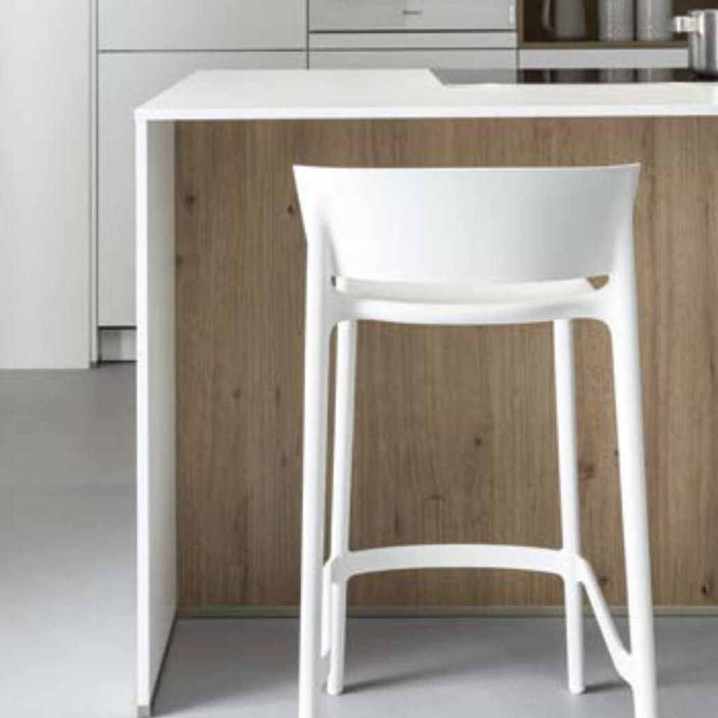 Seating at kitchen island