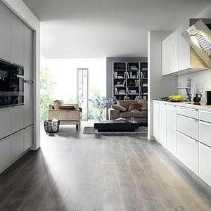 White Matt Resopal Kitchen