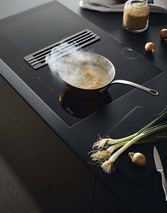Induction Hob with Downdraft