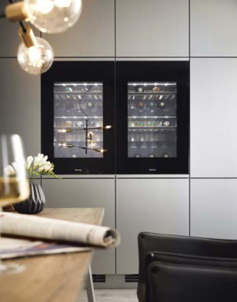 Integrated Miele wine fridges