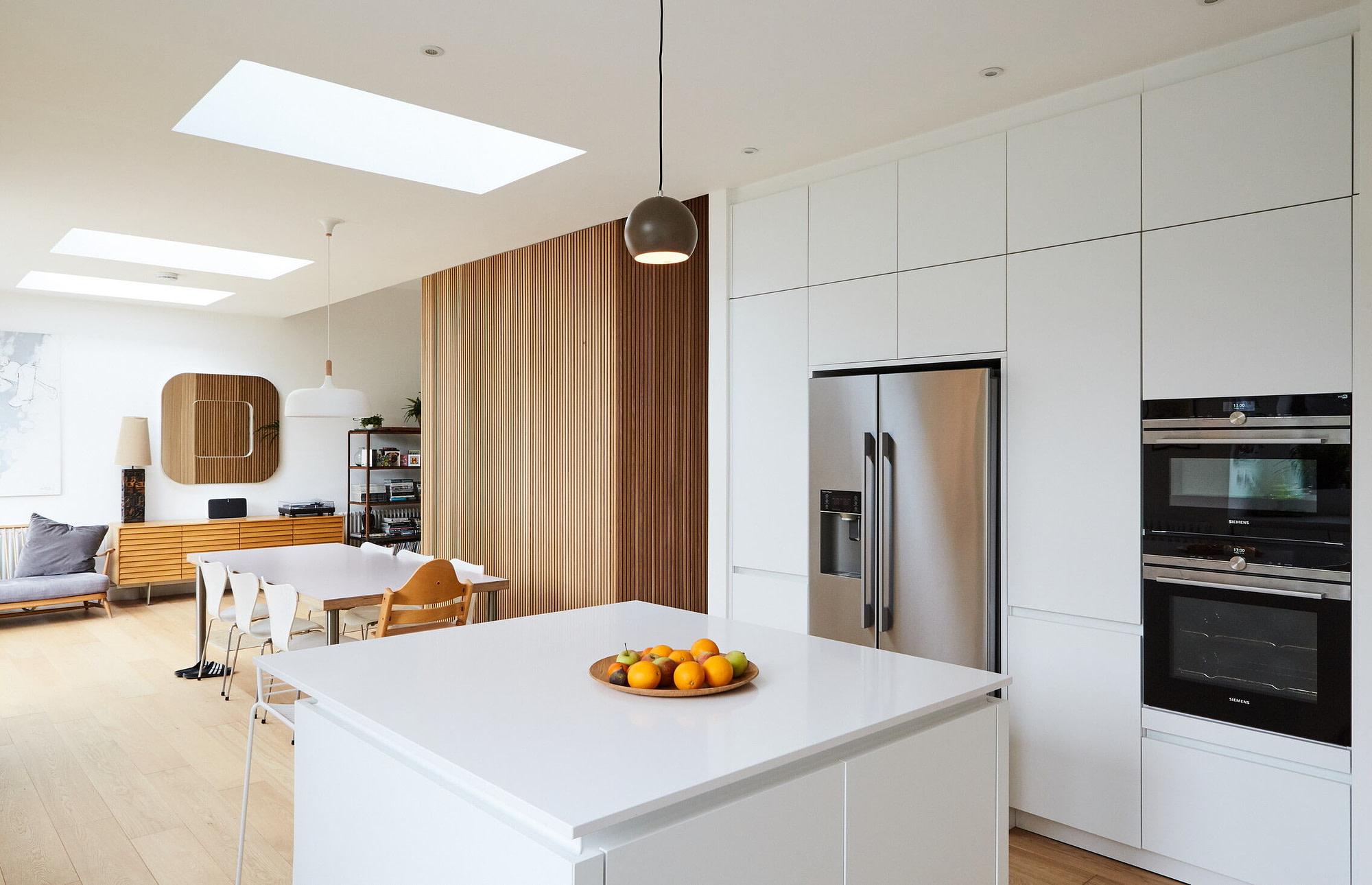 Sugar House - White Handleless Kitchen