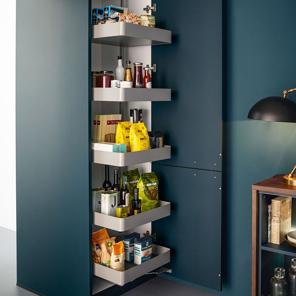 Tall pull out larder