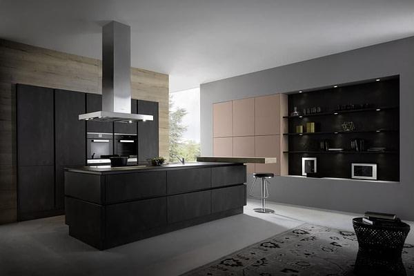 Dark Steel Reproduction Kitchen