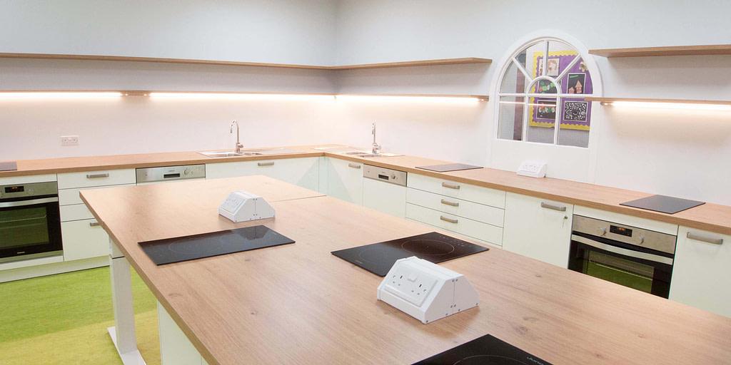 School Teaching Kitchen