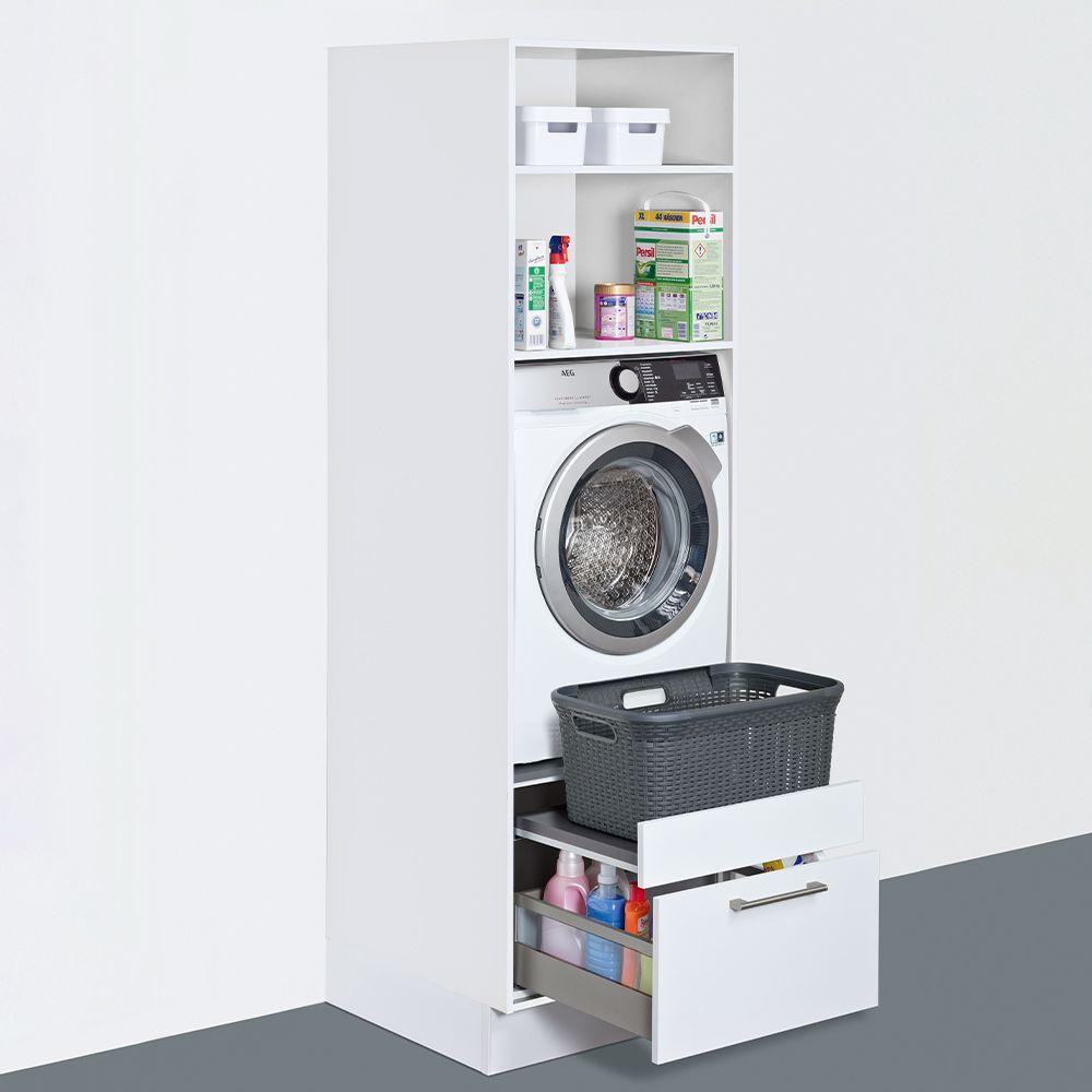 Washing machine cupboard