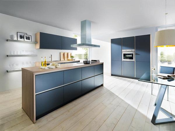 Lava Black Matt Kitchen