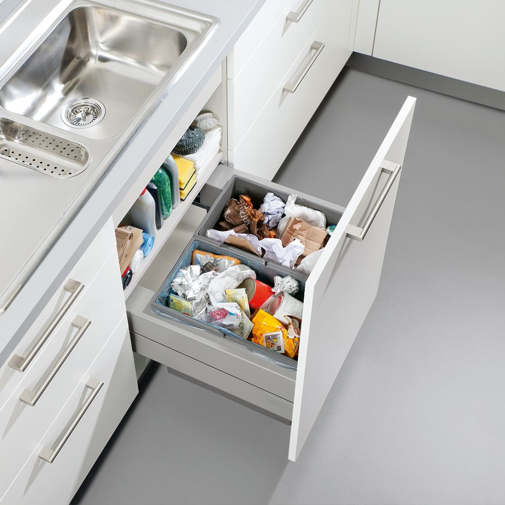 Two way waste sorting