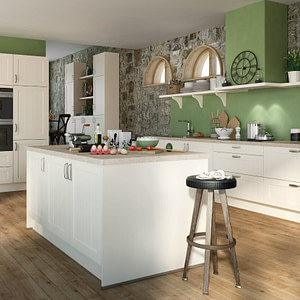 Farmhouse Kitchen Magnolia Satin Lacquer