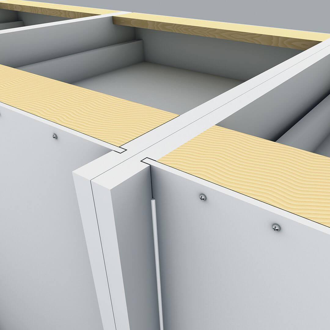 Carcase back panels