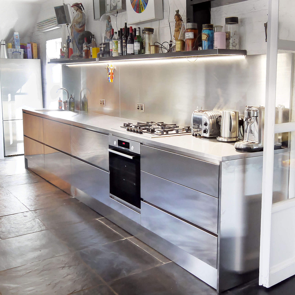 GEC Anderson Stainless Steel Kitchen